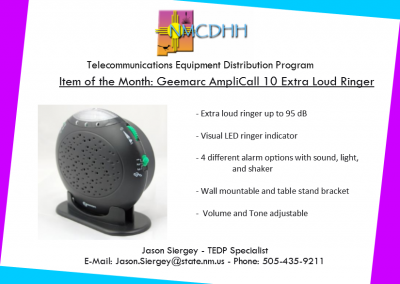 December 2018 Item of the Month