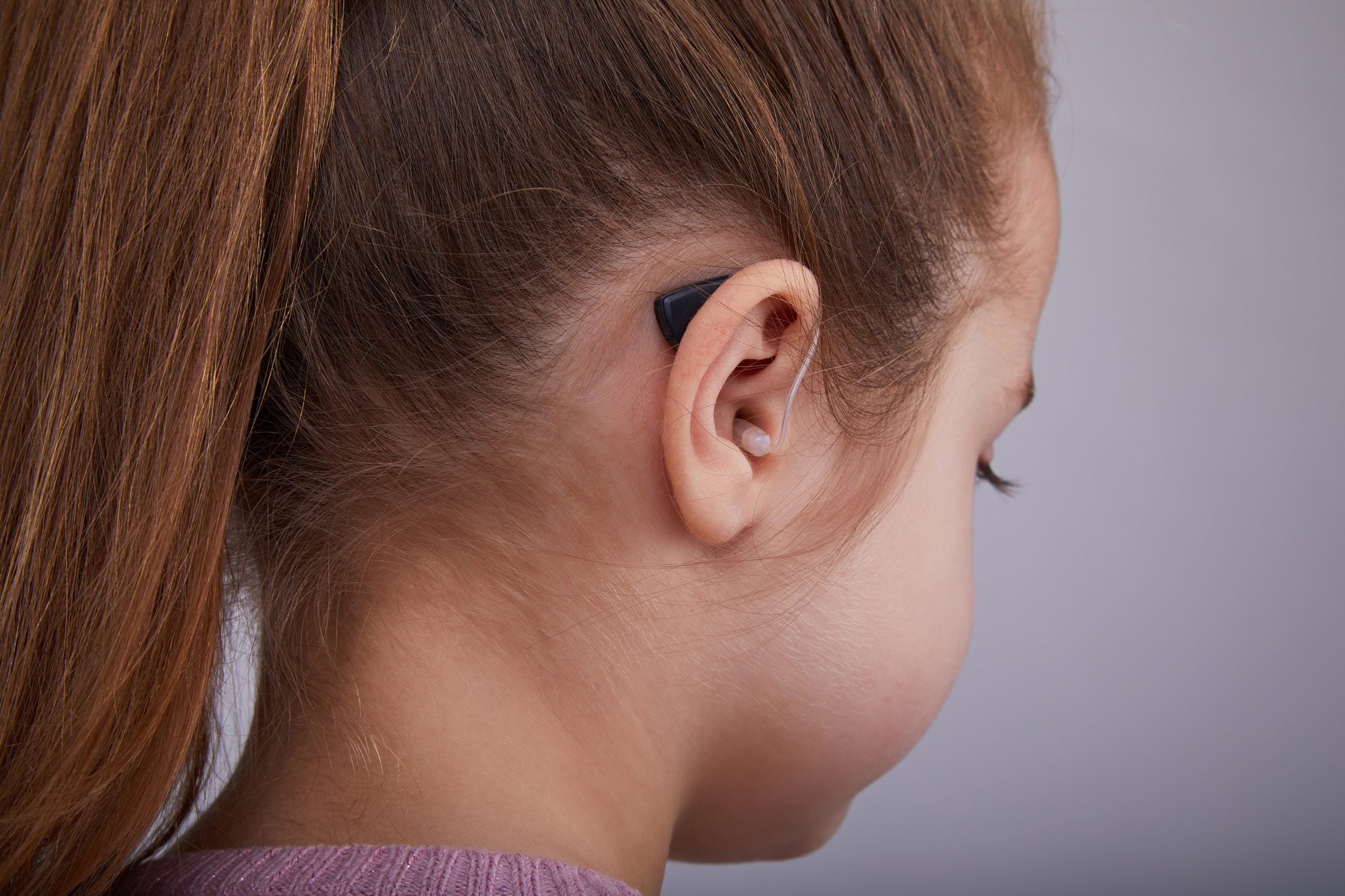Hearing aids for children