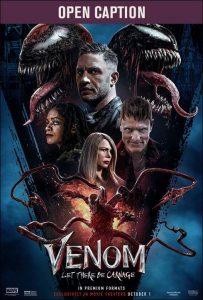 Open Captioned Movie: Venom